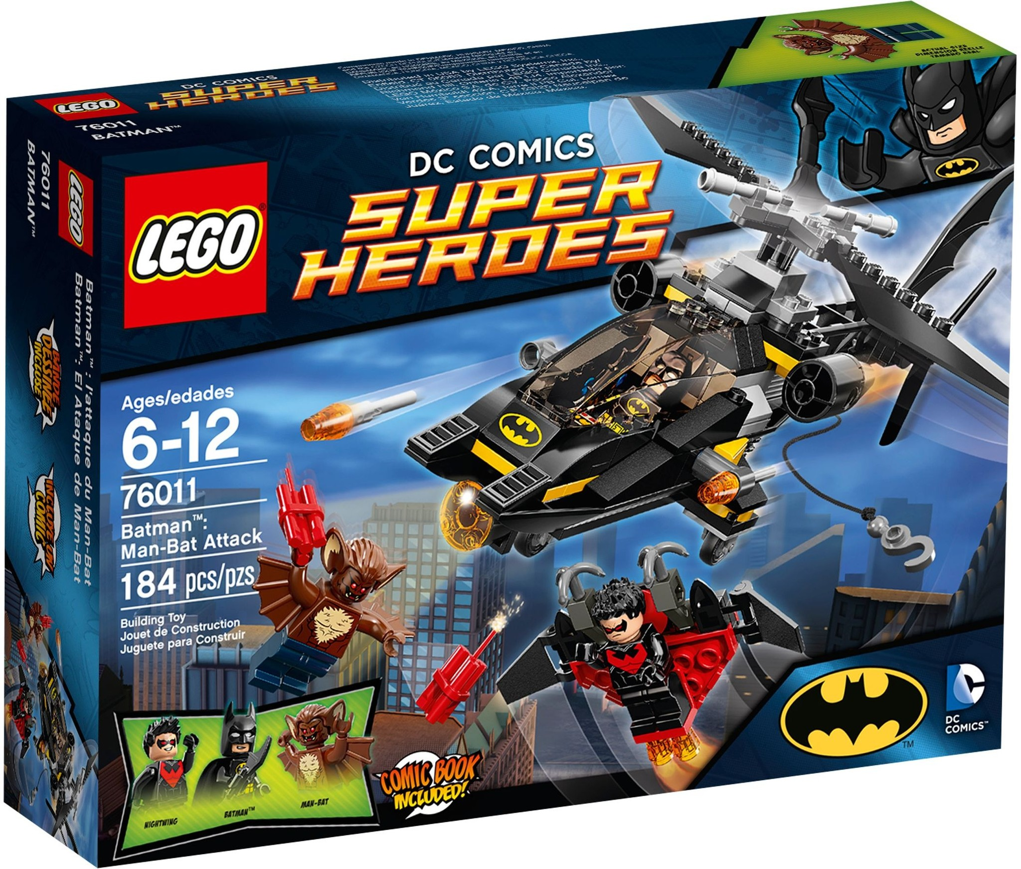 LEGO 76011 - Super Heroes - Batman: Man-Bat Attack