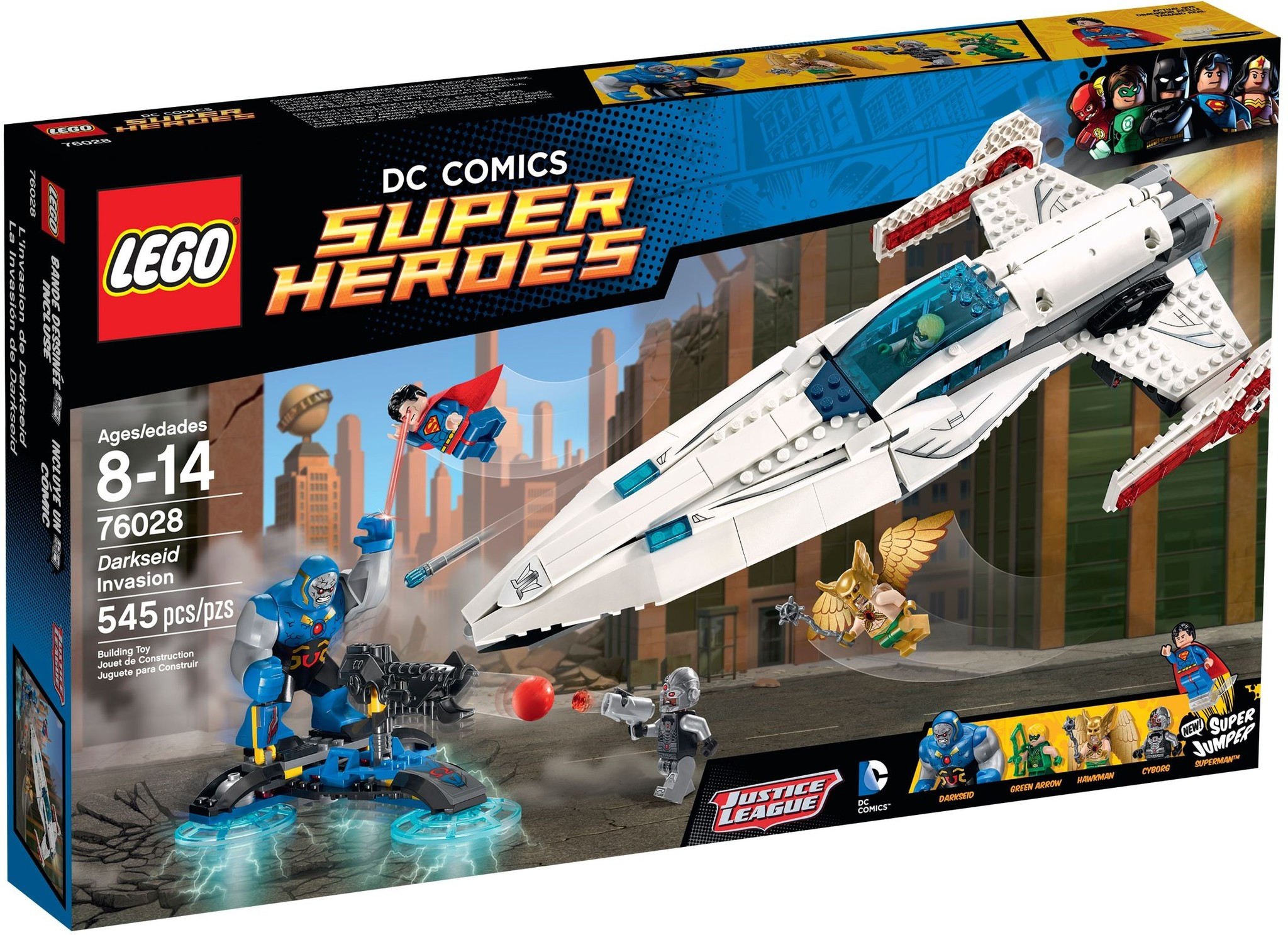 LEGO 76028 - Super Heroes - Darkseid Invasion