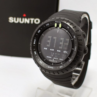 suunto core full black hitam sunto digital