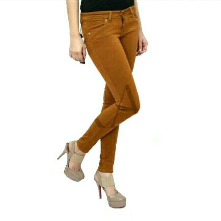 harga Celana Jegging Wanita Jeans Zara Basic Gold Big Size Tokopedia.com