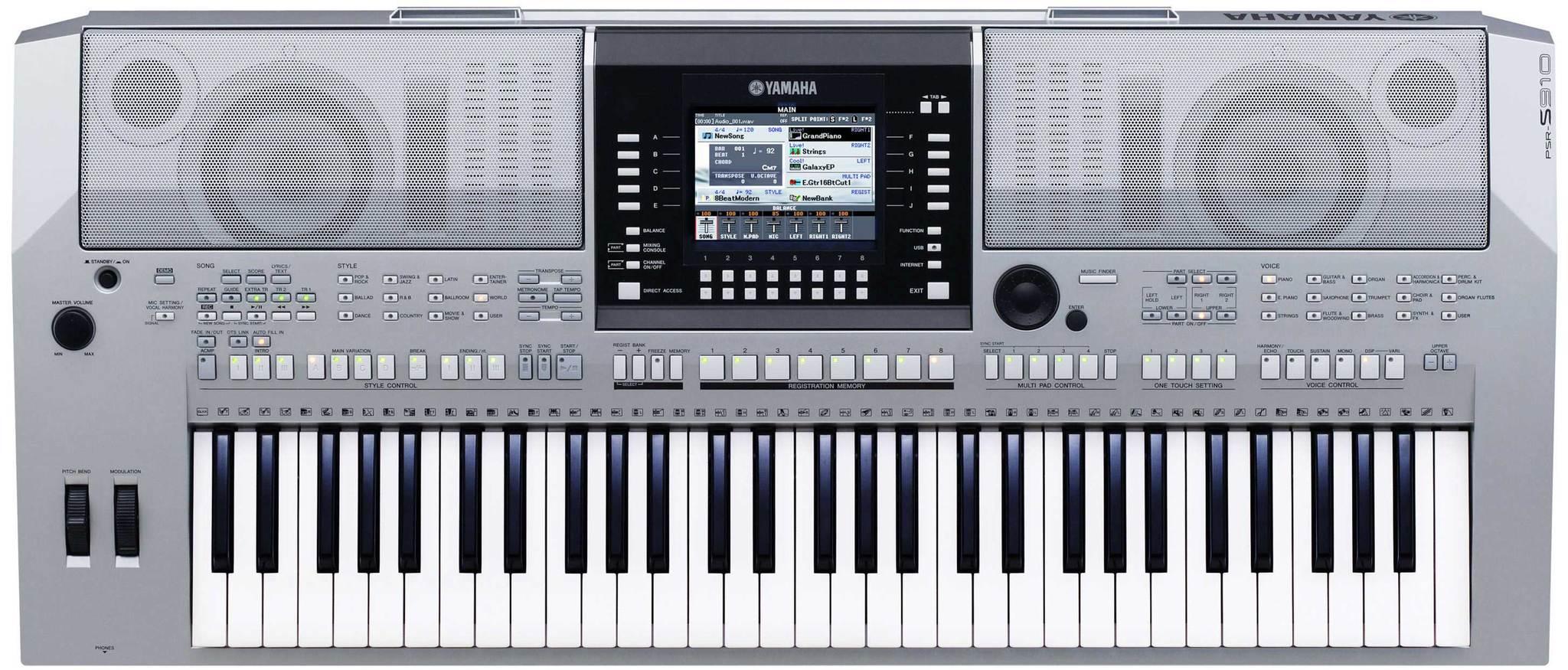 Yamaha PSR S910 Second