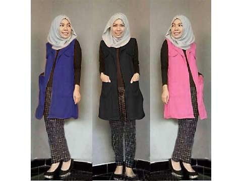 long cardigan hijab misty