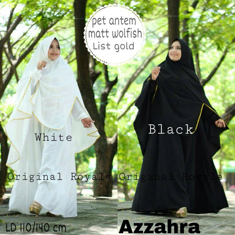 Supplier Hijab Realpicture : azzahra syari by royale
