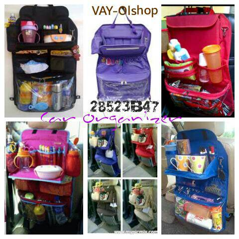 Harga Car Organizer with Table