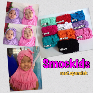 hijab smockids mat.spandek