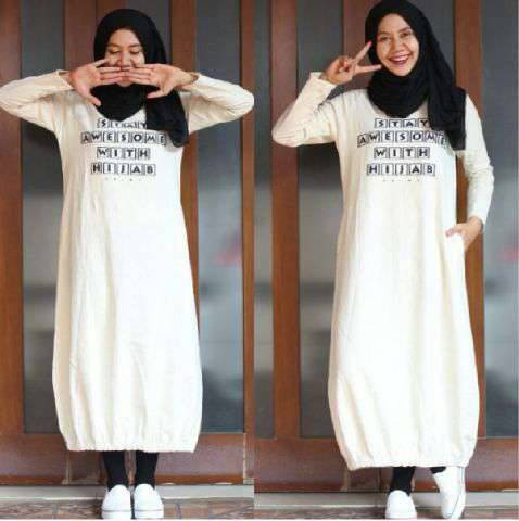 Stay hijab tunik