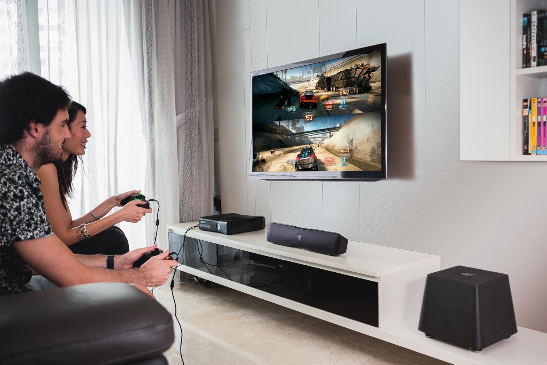 Jual Razer Leviathan 5 1 Channel Surround Sound Bar Dextmall Tokopedia