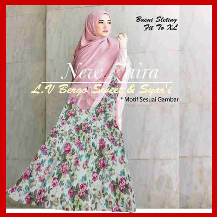 Baju Gamis Syari Muslim Syahrini New Style For 2016 2017