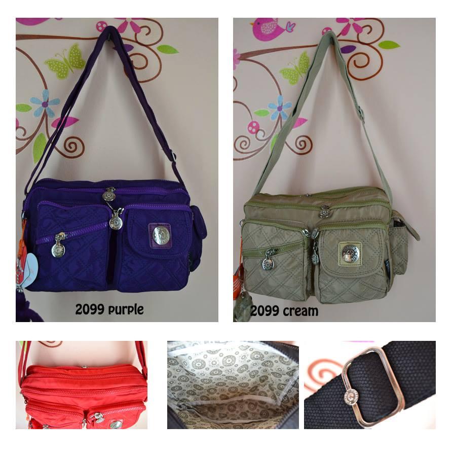 Jual Tas Wanita Import Kipling Selempang Premium 2099 ... f5f6f9732f