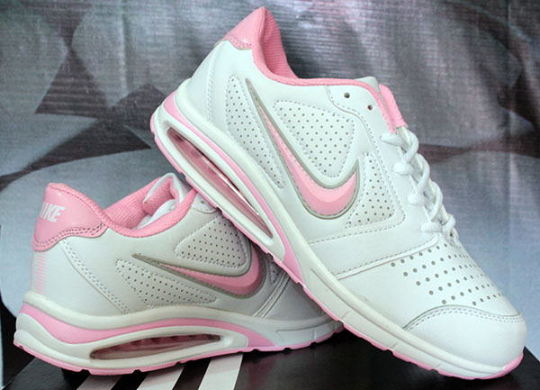 Jual Nike Airmax Glade Women Putih Pink Sepatu Running Sepatu Fitnes f03d9072a9