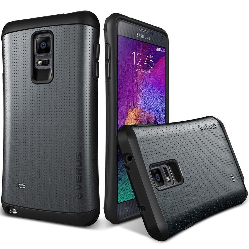 VERUS Galaxy Note4 CASE Hard Drop former THOR Charcoal Black