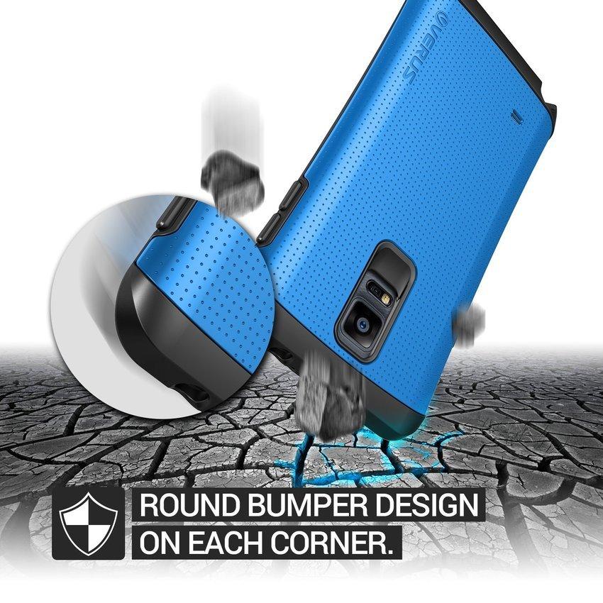 VERUS Galaxy Note4 CASE Hard Drop former THOR Electric Blue