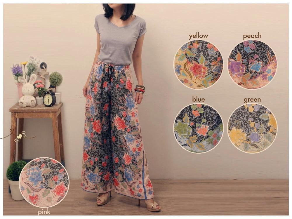 Jual Celana Kulot Batik - Sunny s Store  574a42ee95