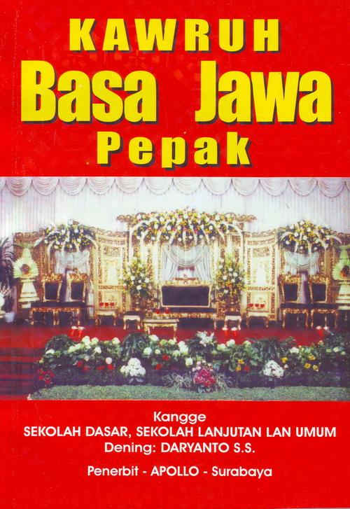 Ebook Pepak Basa Jawa