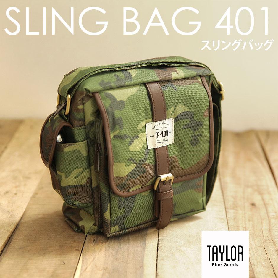 Jual Tas Selempang Pria Mini Murah - Taylor Fine Goods Sling Bag 401 Army -  Griya 028222c8d2ae6
