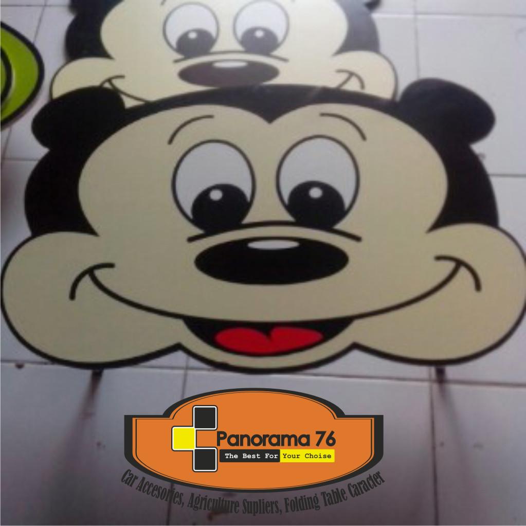 Jual Meja Lipat Karakter Mickey Mouse Lucu Untuk Anak Retail Grosir Panorama76 Online Shop Tokopedia