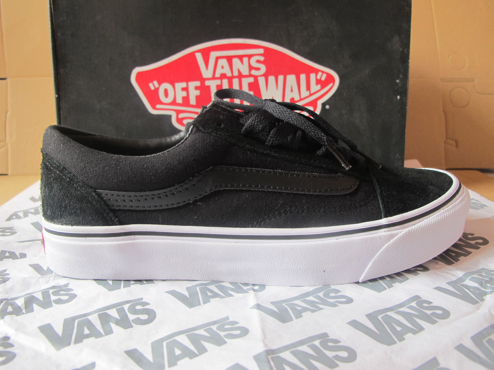 vans old skool black dope