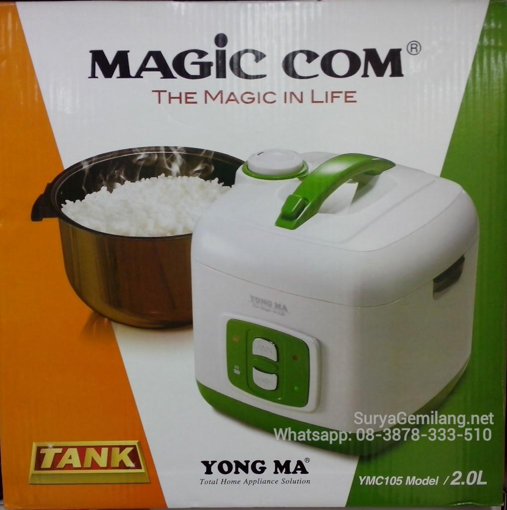 Yong Ma YMC 115 Magic Com Digital 2 Lt - Merah. Source · Magic Com