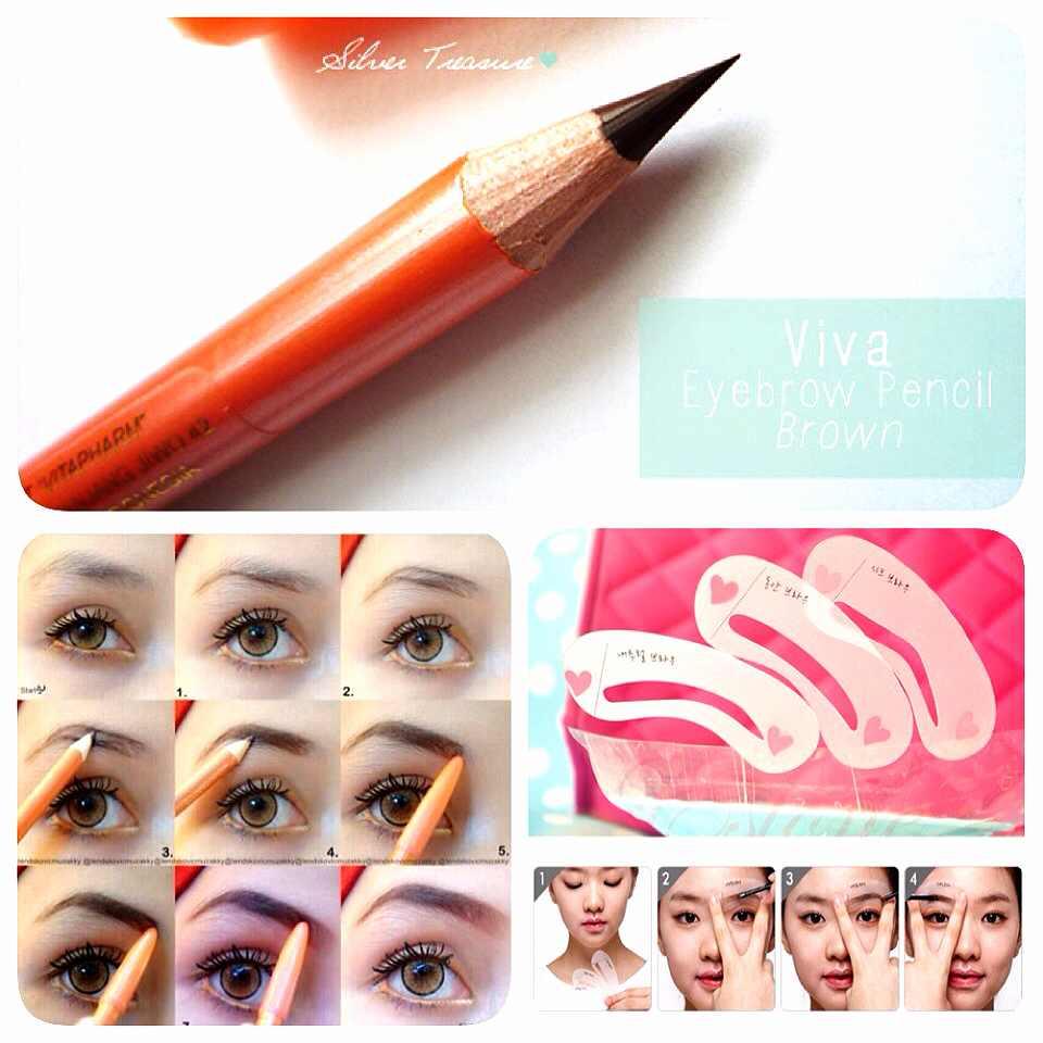 Viva Pensil Alis Original Asli Daftar Harga 100 Eyebrow Pencil Source Poriskosmetik Ori