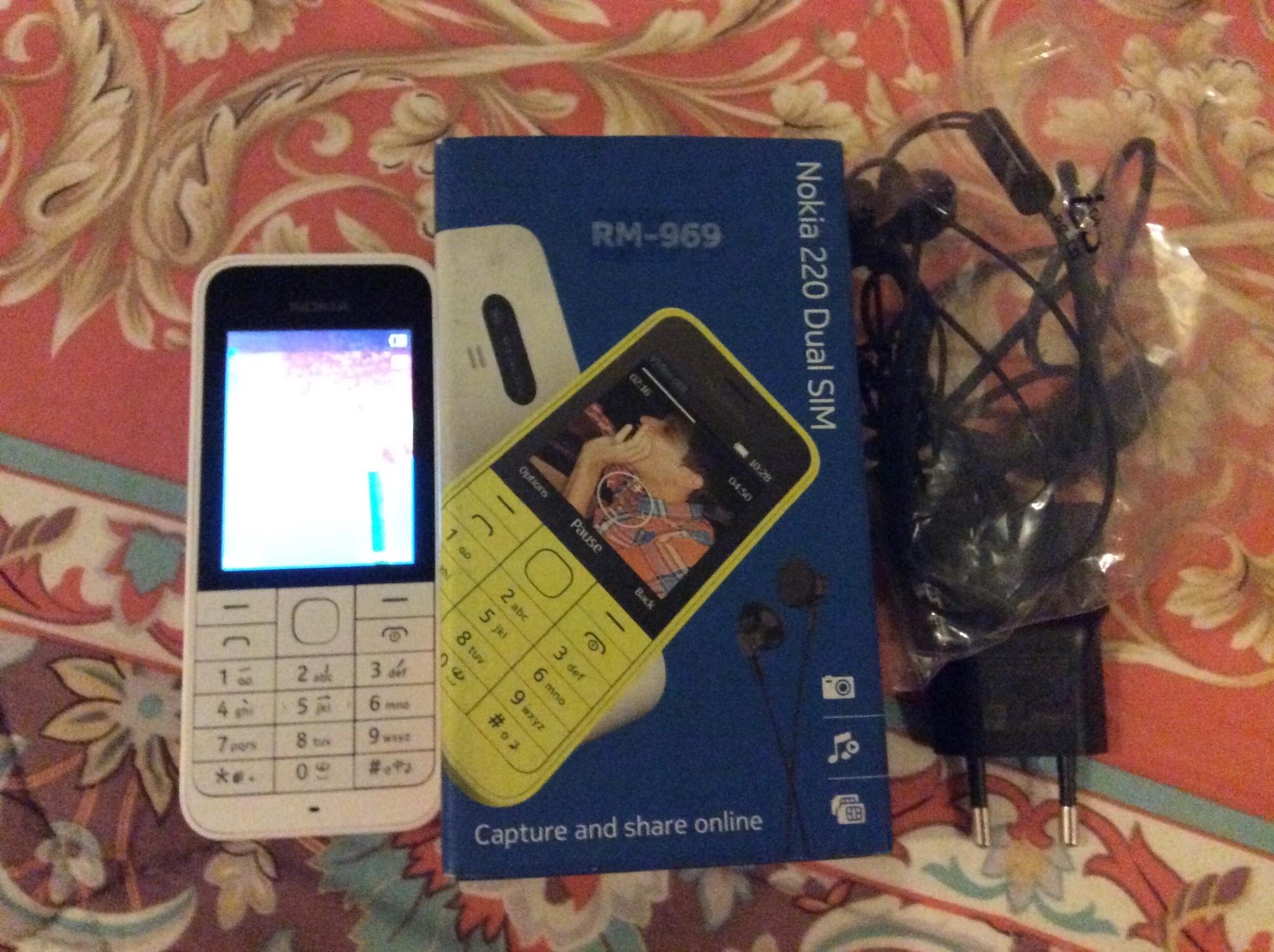 Nokia 220 Dual Sim mulus pemakaian minim