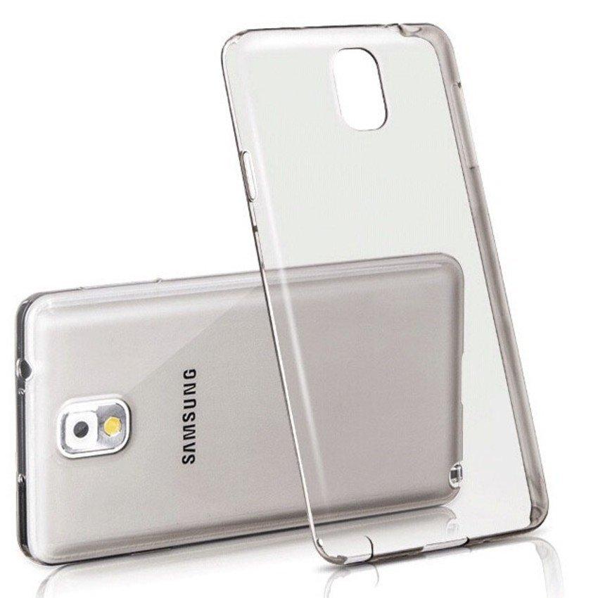 Primary Ultra Thin SILICONE Tranparan Case - Samsung NoTE 4 TRANSPARAN