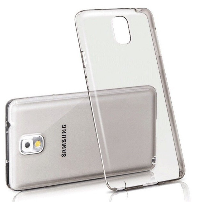 Primary Ultra Thin SILICONE Tranparan Case - Samsung NoTE 3 TRANSPARAN