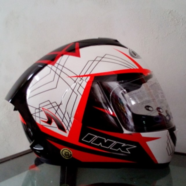 Jual Helm Ink CL Max Wh Red 3