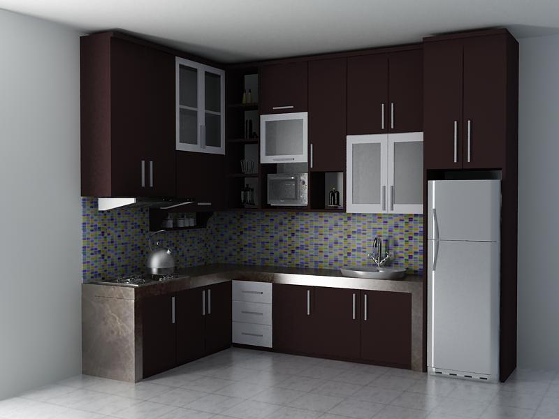 Jual kitchen set malang cv 92 tokopedia for Kitchen set malang