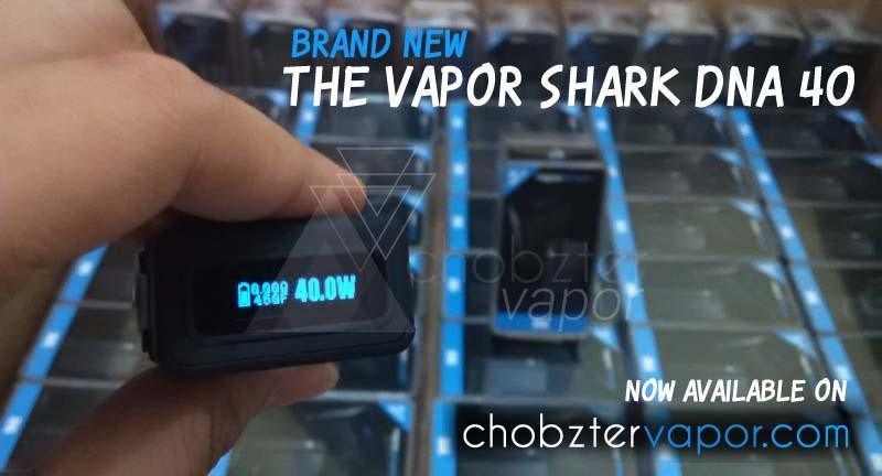 jual vapor shark dna 40 gratis 2 skin dna not rdna chobzter