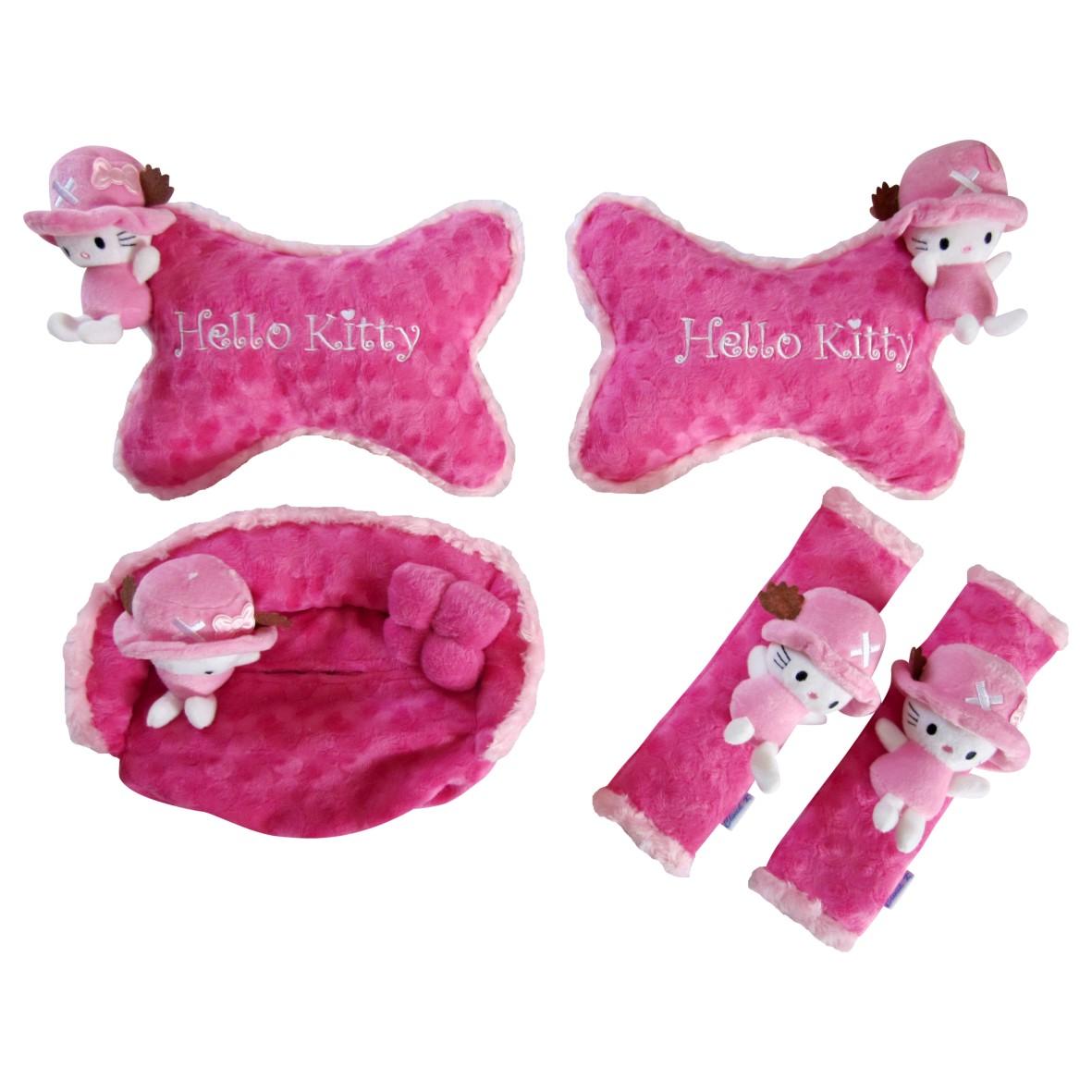 Jual Carset 3 In 1 Boneka Hello Kitty Pink Car Set Paradise Tokopedia