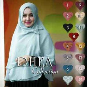 jilbab / hijab syiria DHEA PITA 3 LAYER / khimar Dea / khimar dhea