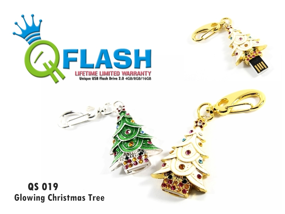 Flashdisk Diamond Pohon Natal 16GB