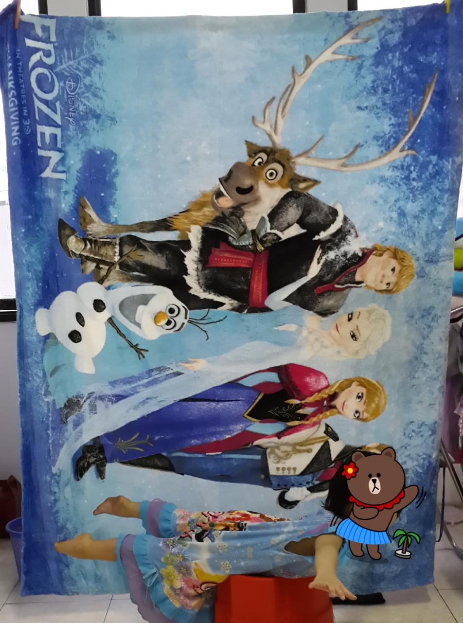 Jual Selimut Halus Karakter 150200cm Frozen Anak Motif Kartun Toko Online Jempol Tokopedia