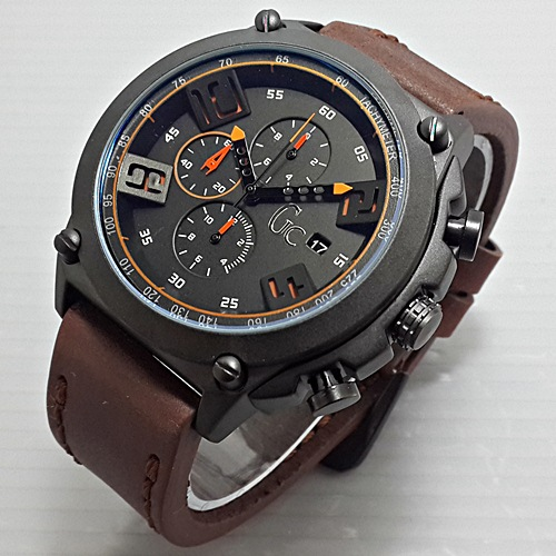 jam tangan pria GC 353 chrono leather model expedition
