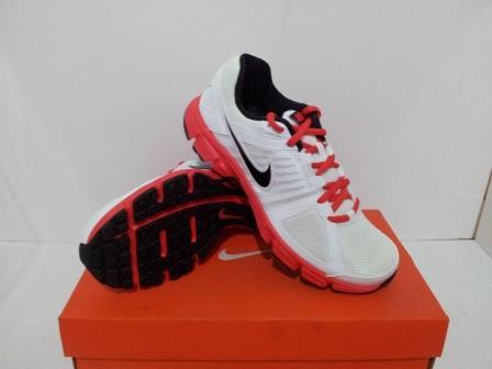 Jual Obral Sepatu Running Nike Downshifter 5 MSL Putih Merah ... a8369df1ed