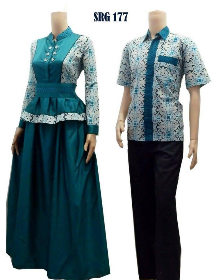Jual Baju Batik Pasangan Model Baju Batik Couple Baju