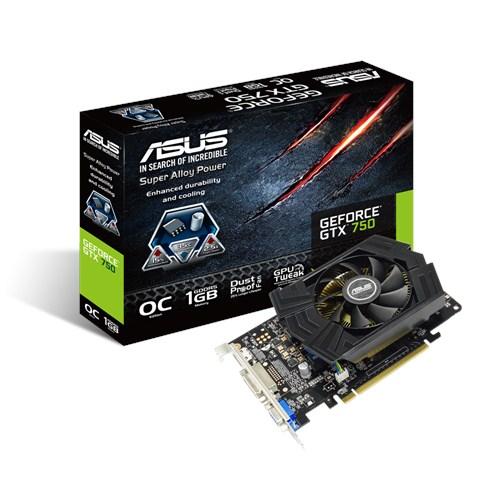 Hasil gambar untuk ASUS GTX 750 OC 1GB DDR5 128-bit