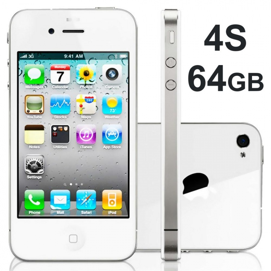 Jual IPHONE 4S 64GB asli original 100% - zulfikar cell | Tokopedia