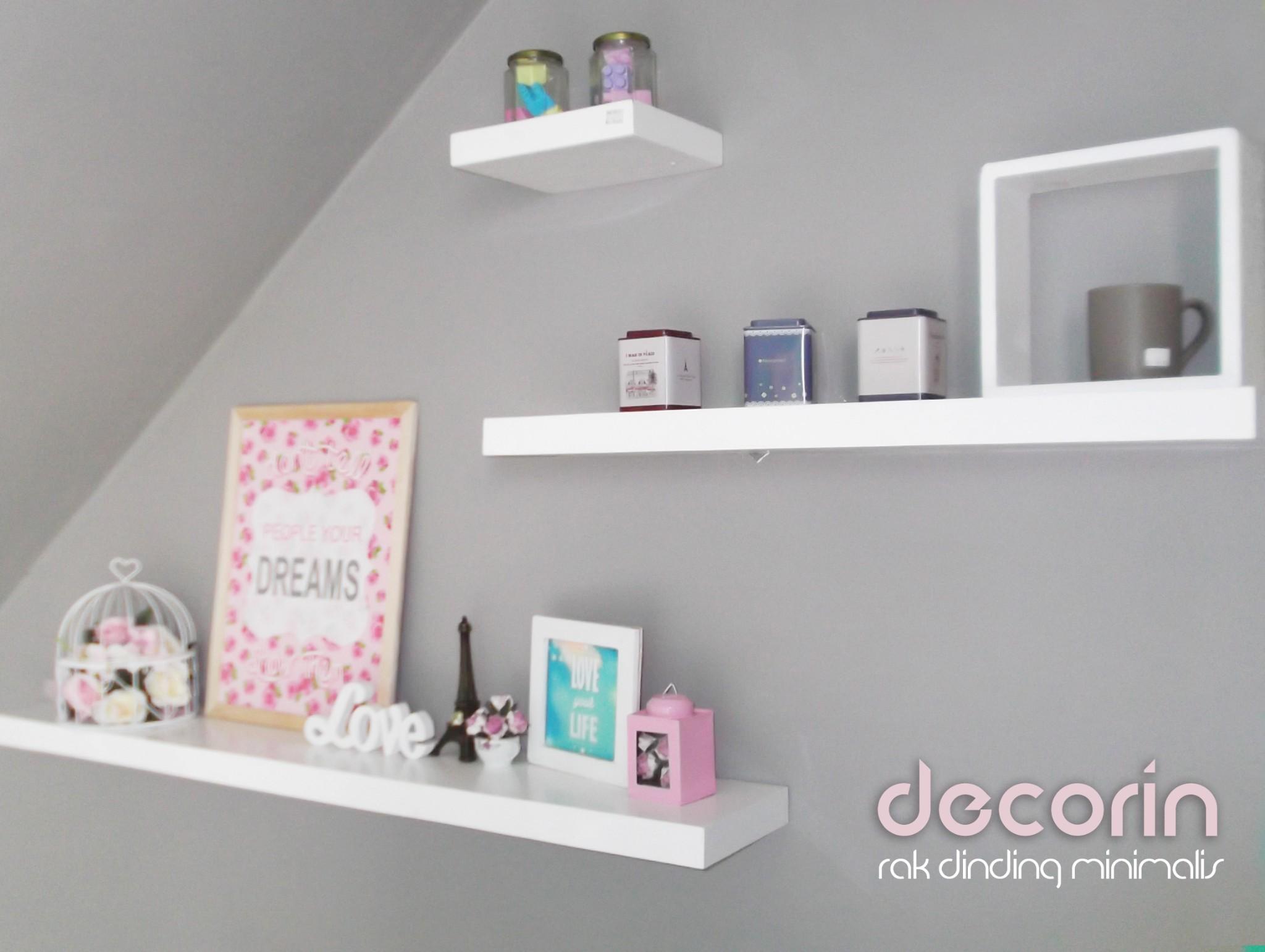 Jual 1 Set Floating Shelves Rak Dinding Ambalan Veco Sheet Isi 3 Pcs Decorin Tokopedia
