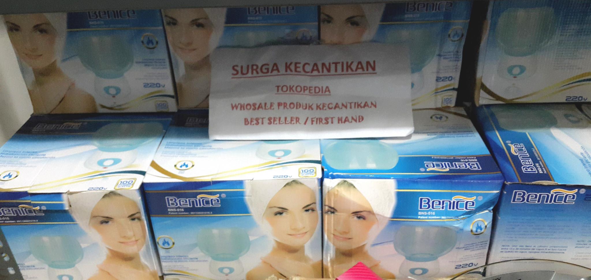 Jual Benice Facial Steam Sauna Alat Wajah Uap Perawatan Surga Kecantikan Tokopedia