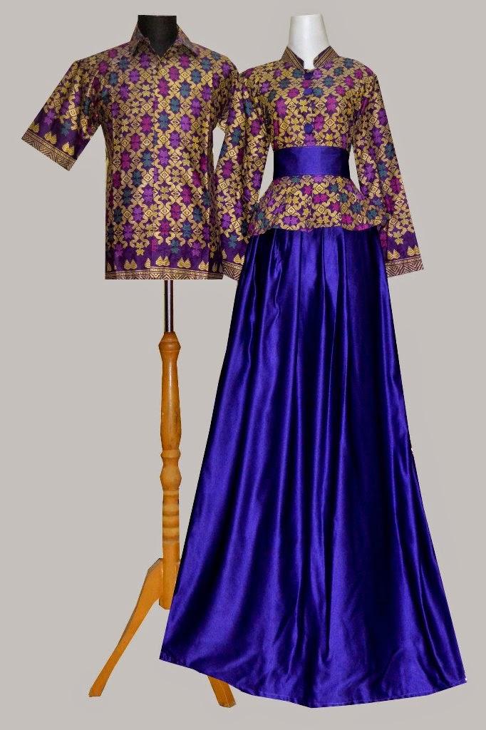 Jual Model Baju Batik Muslim Baju Batik Gamis Couple