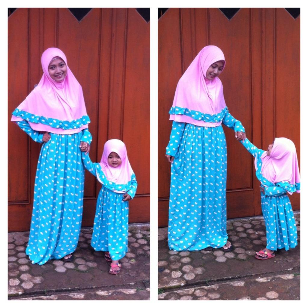 Baju Gamis Ibu Dan Anak Perempuan