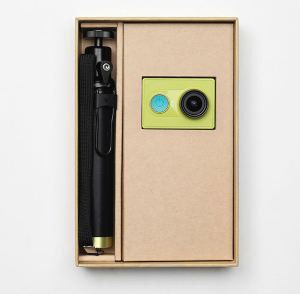 jual xiaomi yi action camera green travel edition with selfie stick gg pro tokopedia. Black Bedroom Furniture Sets. Home Design Ideas