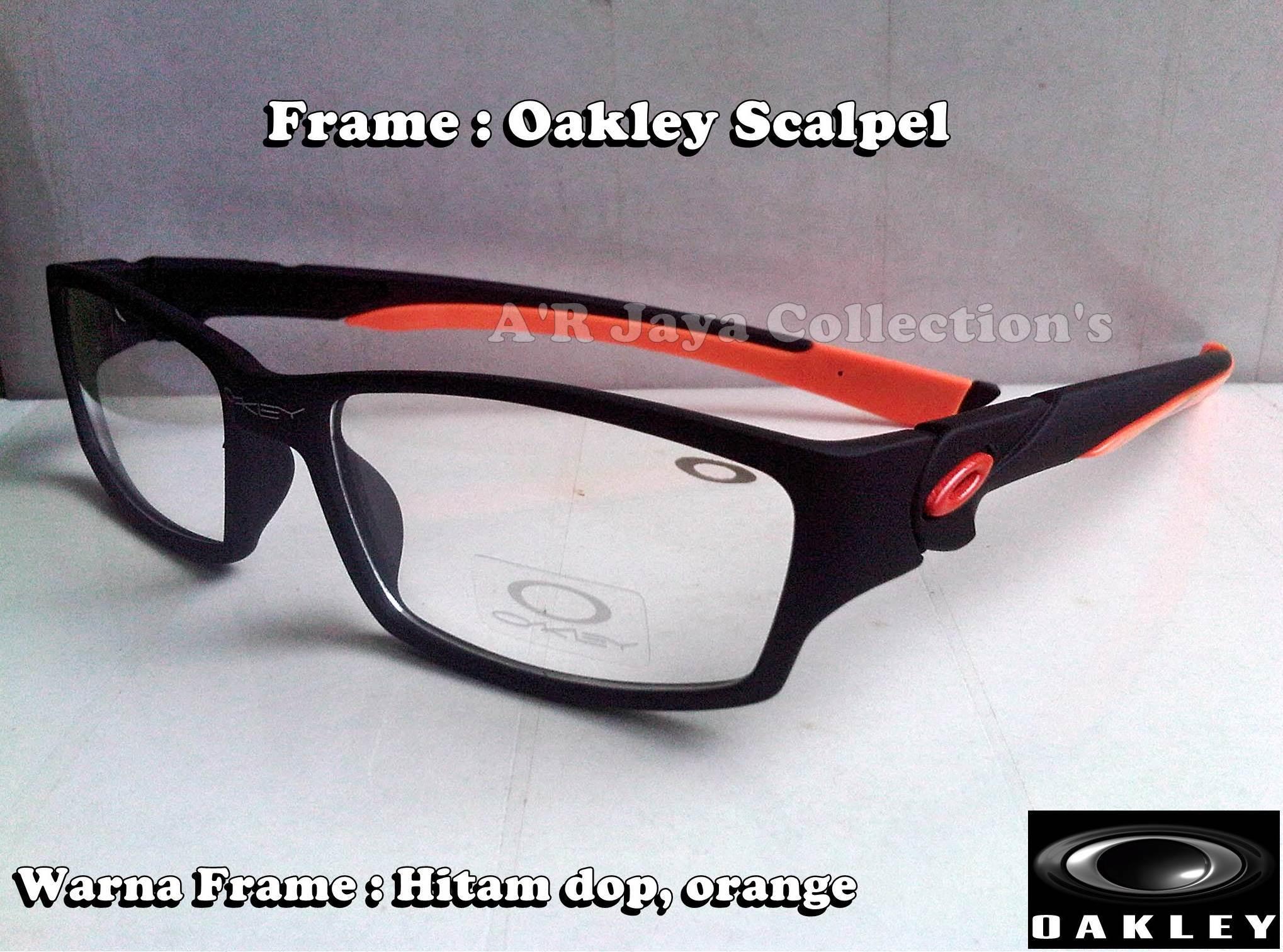 8d3a6dc091 ... coupon jual obral frame kacamata oakley sporty scalpel kw . arjaya  olshop tokopedia 548d3 982f9