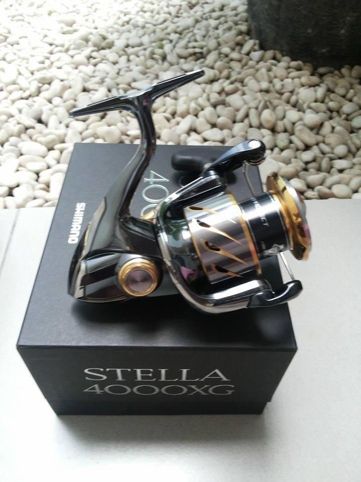 REEL SHIMANO STELLA 4000XG - MODEL 2014