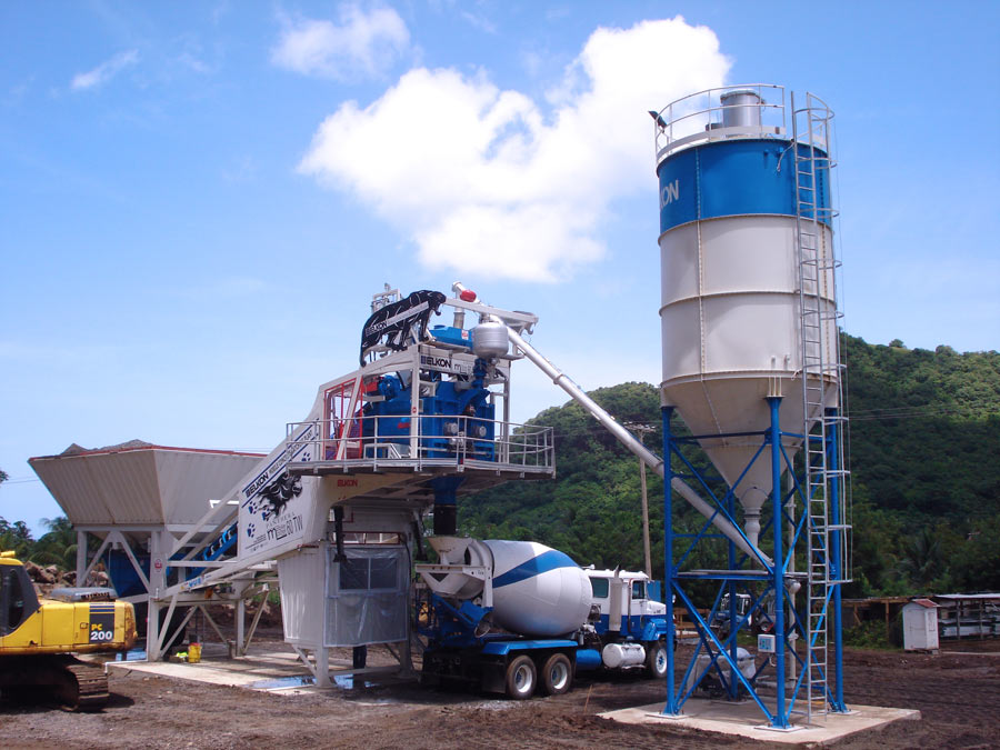 Cement Batch Plant : Jual concrete batching plant baru gudang alat berat