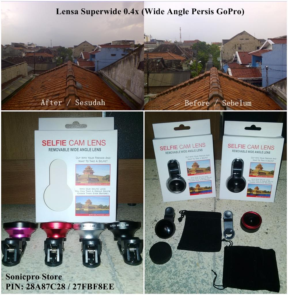 Universal Lensa Super Wide 04 X Gold Spec Dan Daftar Harga Terbaru Newtech 04x Eagle Eye Jual Superwide Jepit Hasil Persis Gopro Sonicpro Store