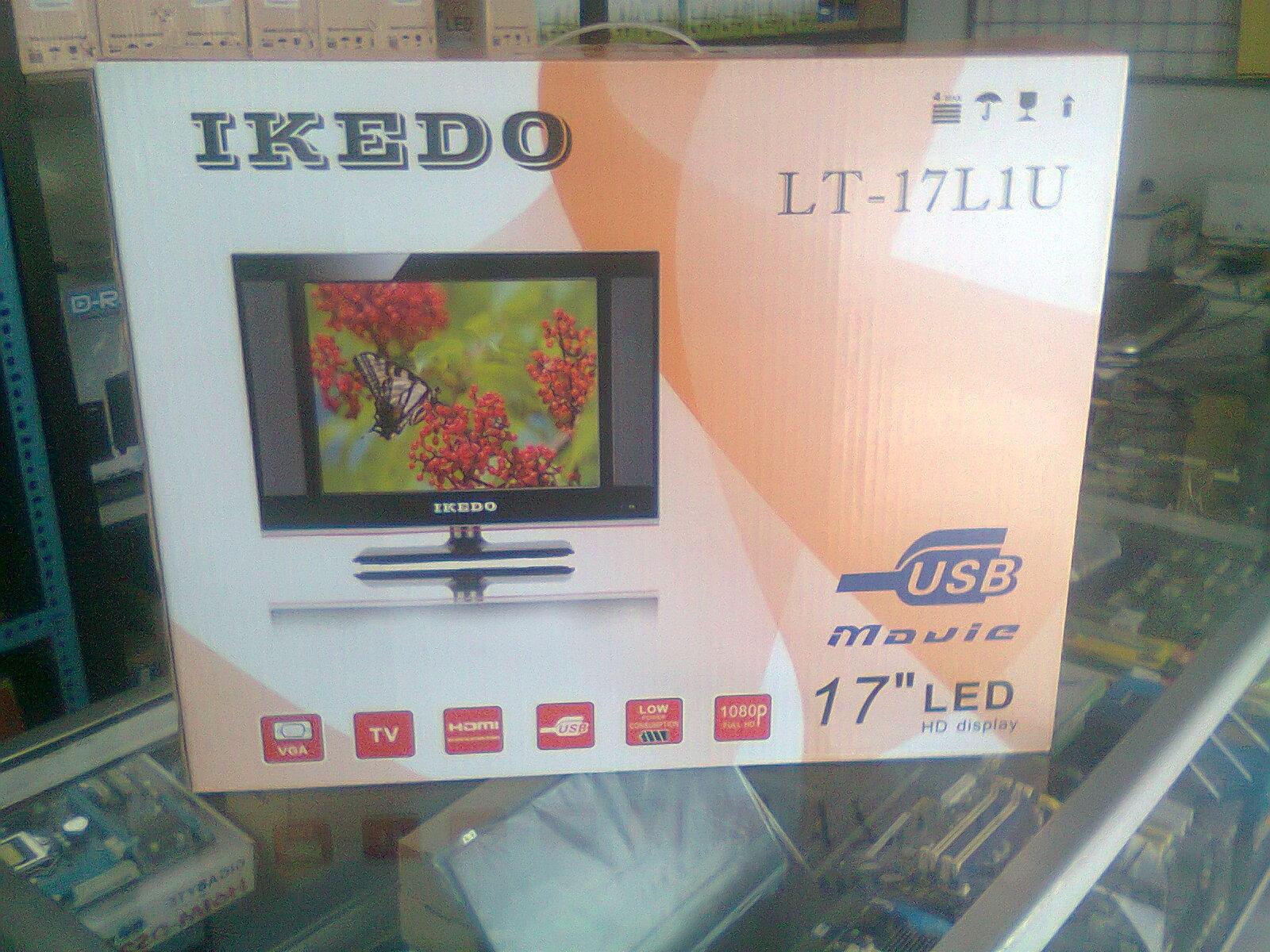 Ikedo Tv Monitor Led 17 Inch Lt 17l2 Daftar Harga Terkini Dan 24p1u1 24 Jual Ready Stok 20 Made In Indon
