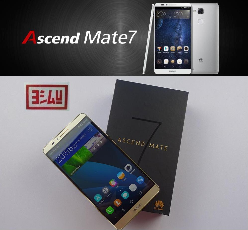 Huawei Ascend Mate7 > the Super 8Core 4G 368ppi MetalBody SmartPhone