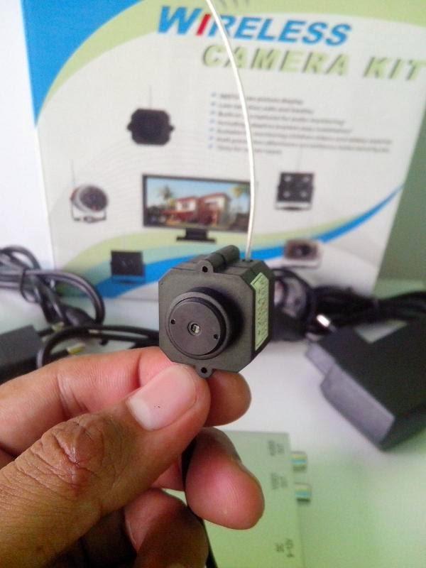 Jual Wireless Kamera CCTV Terkecil Ukuran 2 X 2cm
